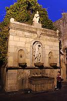 Venusbrunnen in Castelbuono, Sizilien, Italien