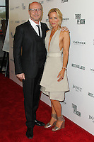 HOLLYWOOD, LOS ANGELES, CA, USA - JUNE 09: Paul Haggis, Maria Bello at the Los Angeles Premiere Of Sony Pictures Classics' 'Third Person' held at the Linwood Dunn Theater at the Pickford Center for Motion Study - Academy of Motion Picture Arts and Sciences on June 9, 2014 in Hollywood, Los Angeles, California, United States. (Photo by Xavier Collin/Celebrity Monitor)
