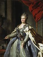 Portrait by Albert Albertrandi of Catherine II, circa 1770 - Catherine The Great-