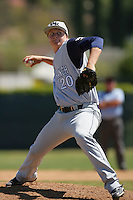 April 7, 2010: Ryan Keller of West Ranch High School during National Classic Tournament in Anaheim,CA.  Photo by Larry Goren/Four Seam Images