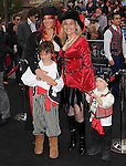 Cat Cora with wife & kids at Walt Disney Pictures Premiere of Pirates of the Caribbean : On Stranger Tides held at Disneyland in Anaheim, California on May 07,2011                                                                               © 2010 Hollywood Press Agency