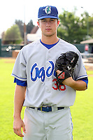 August 12, 2009: Brett Wallach of the Ogden Raptors. The Ogden Raptors are the Pioneer League affiliate of the Los Angeles Dodgers. Photo by: Chris Proctor/Four Seam Images