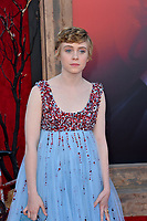 """LOS ANGELES, USA. August 27, 2019: Sophia Lillis at the premiere of """"IT Chapter Two"""" at the Regency Village Theatre.<br /> Picture: Paul Smith/Featureflash"""