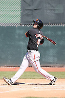 Clay Timpner - San Francisco Giants 2010 minor league spring training..Photo by:  Bill Mitchell/Four Seam Images.