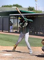 Robert Puason - Oakland Athletics 2021 spring training (Bill Mitchell)