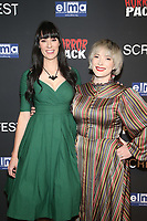 HOLLYWOOD, CA - OCTOBER 12: Tara Erickson and Mary O'Neil at the 21st Screamfest Opening Night Screening Of The Retaliators at Mann Chinese 6 Theatre in Hollywood, California on October 12, 2021. Credit: Faye Sadou/MediaPunch