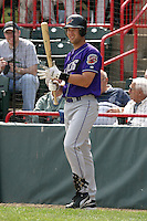 May 11, 2005:  Pat Osborn of the Akron Aeros during a game at Jerry Uht Park in Erie, PA.  Akron is the Double-A Eastern League affiliate of the Cleveland Indians.  Photo By Mike Janes/Four Seam Images