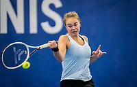 Amstelveen, Netherlands, 18  December, 2020, National Tennis Center, NTC, NK Indoor, National  Indoor Tennis Championships,   :   Bente Spee (NED) <br /> Photo: Henk Koster/tennisimages.com