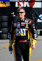 Feb 11, 2009; Daytona Beach, FL, USA; NASCAR Sprint Cup Series driver Jeff Burton during practice for the Daytona 500 at Daytona International Speedway. Mandatory Credit: Mark J. Rebilas-