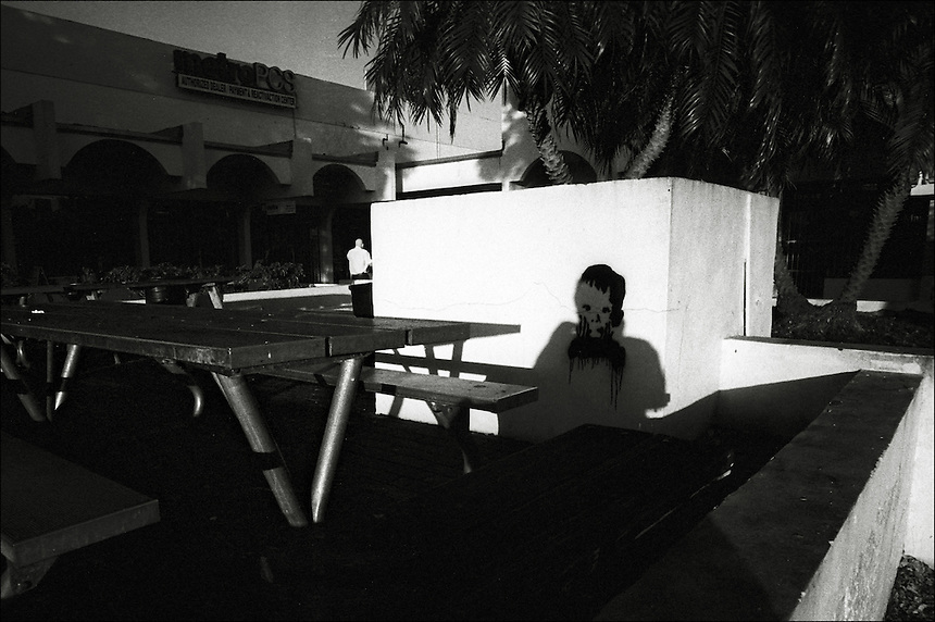 """Was it the boy?<br /> From """"Miami in Black and White"""" series<br /> Miami, Kendall area, Jan 2011"""