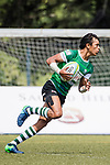 Avishka Lee of Sri Lanka runs in a try during the Asia Rugby U20 Sevens 2017 at King's Park Sports Ground on August 5, 2017 in Hong Kong, China. Photo by Yu Chun Christopher Wong / Power Sport Images