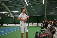 18-01-14,Netherlands, Rotterdam,  TC Victoria, Wildcard Tournament,   Sebastiiaan Bonapart (NED)<br /> Photo: Henk Koster