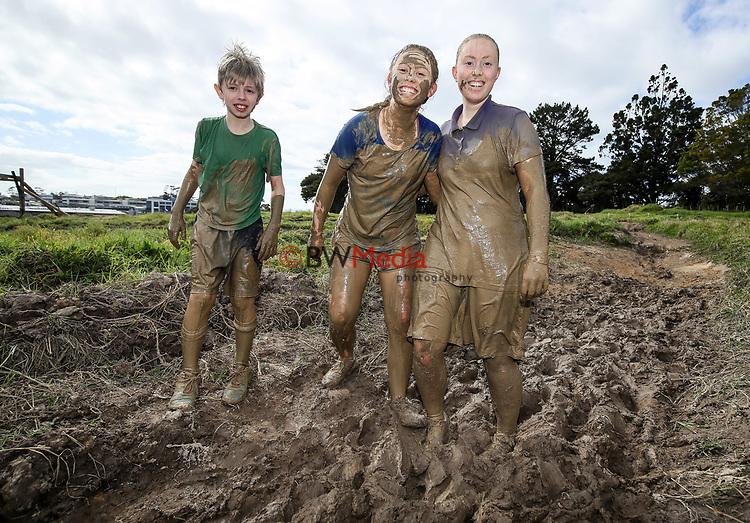 Harbour Sport Mud Monster Mud Rush, Massey University Albany Campus, Auckland, New Zealand. Sunday 9 September 2018, photo:Simon Watts/www.bwmedia.co.nz