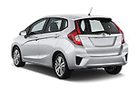 Car pictures of rear three quarter view of 2017 Honda Fit EX 5 Door Hatchback Angular Rear