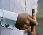 Carlos Fuente Jr. is one of the world's highly regarded cigar makers. His line includes Fuente Fuente Opus X and the ASHTON ESTATE GROWN. His father Carlos Sr. also grows and manufactures cigars under the Arturo Fuente Label. Their base of operations is in Santiago, Dominican Republic. They have a Chateau near Bonao called the Chateau De La Fuente.