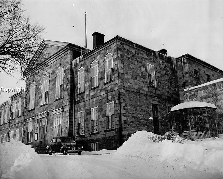 jail at St. Joseph de Beauce;<br /> <br /> PHOTO : Toronto Star Archives - AQP