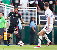 PASADENA, CA – June 25, 2011: Mexican player Giovani Dos Santos (10) during the Gold Cup Final match between USA and Mexico at the Rose Bowl in Pasadena, California. Final score USA 2 and Mexico 4.