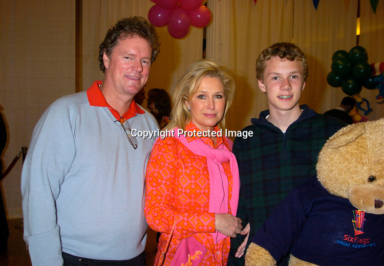 Kathy and Rick Hilton and son Barron
