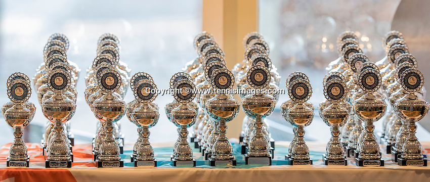 Hilversum, Netherlands, December 4, 2016, Winter Youth Circuit Masters, Trophy's<br /> Photo: Tennisimages/Henk Koster