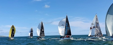 Grabbing summer while it lasts – a mountain of pent-up sailing enthusiasm found its full expression on Sunday off Howth