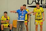 Deutschland - Sport<br /> Handball - Aufstiegsrunde zur 2. Bundesliga<br /> TuS Dansenberg (dan) - HSG Krefeld Niederrhein (kref) 24:21<br /> Trainer Maik PALLACH (Krefeld)<br /> <br /> Foto © PIX-Sportfotos *** Foto ist honorarpflichtig! *** Auf Anfrage in hoeherer Qualitaet/Aufloesung. Belegexemplar erbeten. Veroeffentlichung ausschliesslich fuer journalistisch-publizistische Zwecke. For editorial use only.