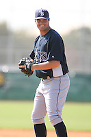March 19th 2008:  Will Kline of the Tampa Bay Devil Rays minor league system during Spring Training at the Raymond A. Naimoli Complex in St. Petersburg, FL.  Photo by:  Mike Janes/Four Seam Images