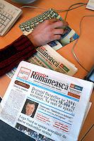 """- """"Stranieri in Italia"""", publishing house of Rome that publishes an Internet portal of services for immigrates and twelve ethnic headlines, for a total of 150 thousand copies to the month; pagination of NOUA GAZETA ROMANEASCA, fortnightly magazine in Rumanian language....- Stranieri in Italia, casa editrice di Roma che pubblica un portale Internet di servizi per immigrati e dodici testate etniche per un totale di 150mila copie al mese; impaginazione di NOUA GAZETA ROMANEASCA, quindicinale in lingua rumena"""