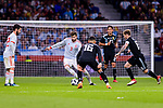 Gerard Pique of Spain (L) in action against Marcos Rojo of Argentina (R) during the International Friendly 2018 match between Spain and Argentina at Wanda Metropolitano Stadium on 27 March 2018 in Madrid, Spain. Photo by Diego Souto / Power Sport Images