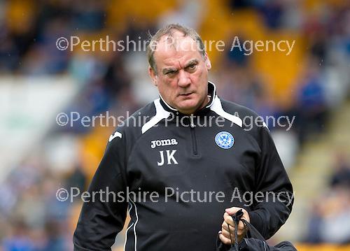 St Johnstone FC...Season 2012-13.St Johnstone physio John Kerr.Picture by Graeme Hart..Copyright Perthshire Picture Agency.Tel: 01738 623350  Mobile: 07990 594431