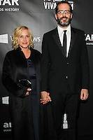 HOLLYWOOD, LOS ANGELES, CA, USA - OCTOBER 29: Patricia Arquette, Eric White arrive at the 2014 amfAR LA Inspiration Gala at Milk Studios on October 29, 2014 in Hollywood, Los Angeles, California, United States. (Photo by Celebrity Monitor)