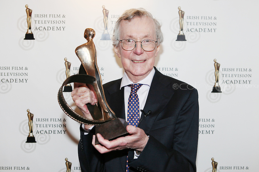 22/9/2010. Cathal O'Shannon - A Life in Television.  Veteran of Irish TV Cathal O'Shannon is pictured at the Conrad Hotel Dublin for the .IFTA Tribute event Cathal O'Shannon- A life in Television. Picture James Horan/Collins Photos