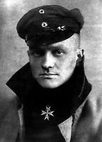 Freiherr Rittmeister von Richtofen.  Baron Captain Manfred von Richtofen, ca.  1917.  (Foreign Records Seized)<br />Exact Date Shot Unknown<br />NARA FILE #:  242-HB-1103<br />WAR & CONFLICT BOOK #:  497