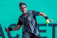 Hilversum, The Netherlands, September 2, 2018,  Tulip Tennis Center, NKS, National Championships Seniors, Men's 45+ final: Jeroen Bok (NED) <br /> Photo: Tennisimages/Henk Koster