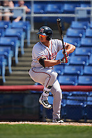 Richmond Flying Squirrels first baseman Ricky Oropesa (33) at bat during a game against the Binghamton Mets on June 26, 2016 at NYSEG Stadium in Binghamton, New York.  Binghamton defeated Richmond 7-2.  (Mike Janes/Four Seam Images)