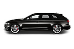 Car driver side profile view of a 2019 Audi RS 6 Avant Base 5 Door Wagon