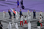Japan delegation (JPN),<br />JULY 23, 2021 : <br />Tokyo 2020 Olympic Games Opening Ceremony at the Olympic Stadium in Tokyo, Japan. <br />(Photo by MATSUO.K/AFLO SPORT)