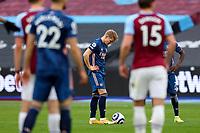21st March 2021; London Stadium, London, England; English Premier League Football, West Ham United versus Arsenal; Martin Odegaard of Arsenal prepares to take a free kick