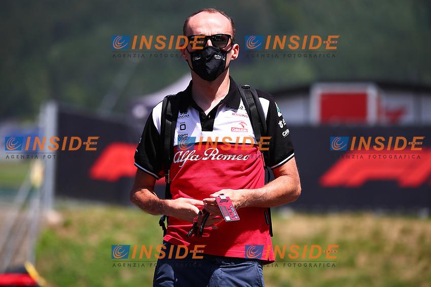 Robert Kubica Reserve Test driver Alfa Romeo Racing. Formula 1 World championship 2021, Styrian GP 2021, 24 June 2021