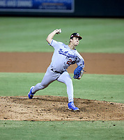 Bobby Miller - Glendale Desert Dogs - 2021 Arizona Fall League (Bill Mitchell)