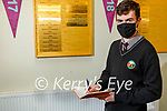 Eoin McElligott is a student in the Gaelcholaiste in Tralee and lives in Lixnaw and he is keeping a diary for the Kerry Museum.