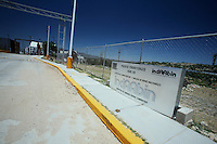 US Confine Arizona Messico Sasabe Posto di frontiera