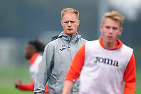 Alan Tate First Team Coach of Swansea City during the Swansea City Training at The Fairwood Training Ground in Swansea, Wales, UK. Tuesday 22 September 2020