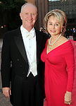 Michelle and Frank Hevrdejs at the Houston Grand Opera's Yellow Rose Ball at the Wortham Theater Saturday April 10,2010. (Dave Rossman Photo)