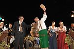 IL SINDACO DI MONACO CHRISTIAN UDE CON L'AMBASCIATORE MICHAEL STEINER<br /> FESTA RIUNIFICAZIONE  A VILLA ALMONE RESIDENZA AMBASCIATORE TEDESCO -  ROMA  OTTOBRE 2008