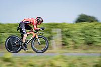 Pello Bilbao (ESP/Bahrain - Victorious)<br /> <br /> Stage 20 (ITT) from Libourne to Saint-Émilion (30.8km)<br /> 108th Tour de France 2021 (2.UWT)<br /> <br /> ©kramon
