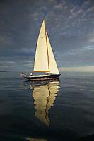 Sailboat in Newport, Rhode Island