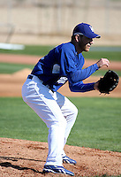 Charlie Haeger - Los Angeles Dodgers - 2009 spring training.Photo by:  Bill Mitchell/Four Seam Images