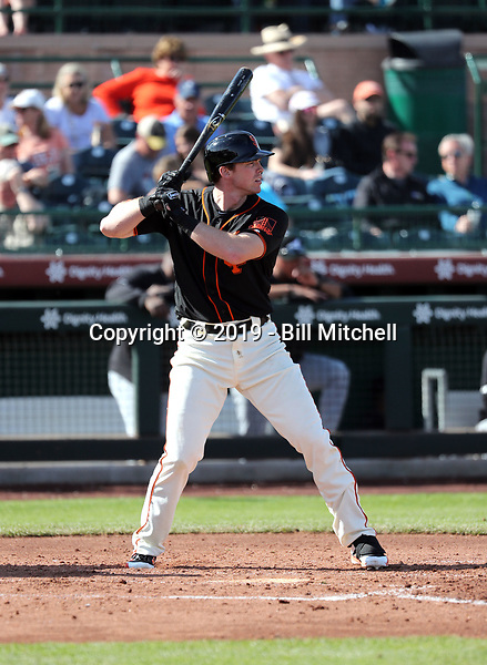 Zach Green - San Francisco Giants 2019 spring training (Bill Mitchell)