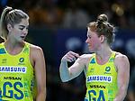 29/10/17 Fast5 2017<br /> Fast 5 Netball World Series<br /> Hisense Arena Melbourne<br /> Australia v England <br /> <br /> <br /> <br /> <br /> <br /> <br /> Photo: Grant Treeby