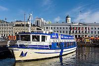 Südhafen und Rathaus, Helsinki, Finnland